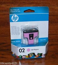 Genuine HP 02 (230 Prints) (C8775WN) Light Magenta Ink Cartridge *EXPIRED*