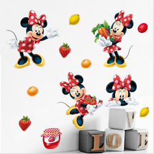 Minnie Mouse Children's Room Warm Wall Painting Bedroom Waterproof Stickers
