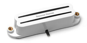 Seymour Duncan SCR-1 Cool Rails for Strat - white, neck middle