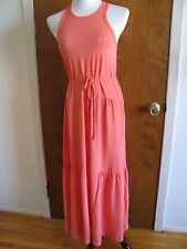 Gap Women's Orange Summer Maxi Dress Size XSmall New