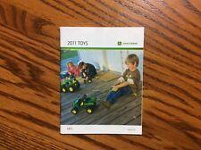 New 2011 John Deere Pocket Ertl Toy Book