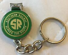 Southern Railway key chain with nail clipper and nail file new