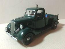 "Hallmark USA KEEPSAKE Ornament: All American Trucks Nº 4"" 1937 FORD V-8"""