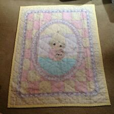 Precious Moments Vintage Handmade Quilt Wallhanging