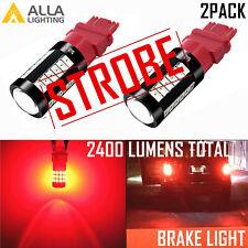 LED 4-STROBE Brake Light Bulb Taillights Lamp for GMC 04-07 Sierra Pickup Truck