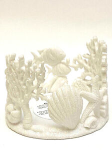 BATH & BODY WORKS 3-WICK SEA WORLD CORAL REEF CERAMIC CANDLE HOLDER NEW
