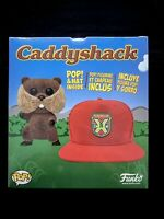 💥Funko Pop! Caddyshack: Flocked Gopher & Hat [Target Collector's Box]💥 IN-HAND