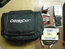 ChromaCast Electric Guitar case, stand, strap, strings, cable, tuner