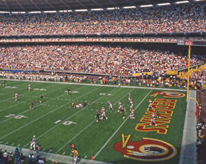 1994 Washington Redskins RFK STADIUM Glossy 8x10 Photo Print NFL Poster
