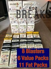2020 topps Allen Ginter Break 8 Blaster / 17 Fat Pack - Other Sports / Actors