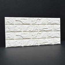 3D PE Ziegel Wasserfest Wandaufkleber Selbstklebend Panel Aufkleber DIY  60*30cm