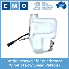 Reservoir Bottle for Windscreen Wiper of Low Speed Vehicles