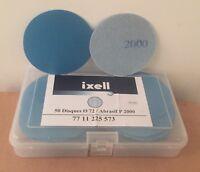 disques abrasifs P2000 72mm ixell /50pcs