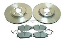 RENAULT LAGUNA 95-01 MINTEX FRONT BRAKE DISCS AND PADS