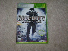 CALL OF DUTY WORLD AT WAR...XBOX 360...***SEALED***BRAND NEW***!!!!!