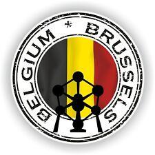 Joint Autocollant de Belgique Bruxelles Atomium TIMBRE pare-chocs Cocarde Camion Ordinateur Portable Voiture