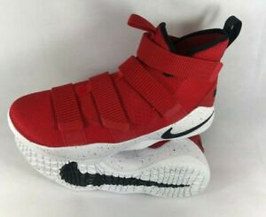 Nike LeBron Zoom Soldier XI 11 University Red/ White 897644-601 Size 10.5