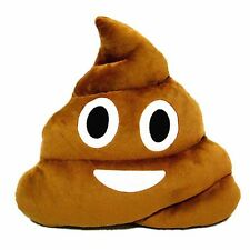 "13"" Poop Poo Family Emoji Emoticon Pillow Stuffed Plush Toys Soft Cushion Doll"