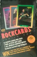 FACTORY SEALED BOX ROCK CARDS BROCKUM SERIES #1 1991 TRADING CARDS BOX 36 PACKS