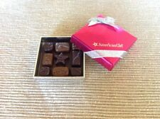 "NEW American Girl gift box of chocolates candy sweets for 18"" doll candies"