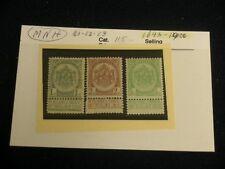Belgium Stamps - 1893 -1900 Cob 81/3 - Very Nice - Mnh