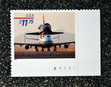 USA1998 #3262 $11.75 Piggyback Space Shuttle Plate Number Single- Express  Mint