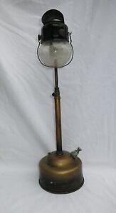 Vintage Tilley Pork Pie Table Lamp TL8 /TL9 Hood