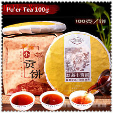 High quality ripe pu erh,health care puer tea 100g,slimming tea Meng Hai old tea