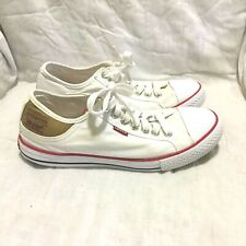 LEVI'S CANVAS CASUAL ATHLETIC SHOES MULTI COLOR ( SIZE 9 ) MEN'S
