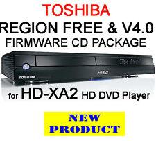 V4.0 & territorio libero firmware per Toshiba HD-XA2 Lettore HDDVD