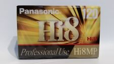 Panasonic Hi8MP Professional Use 120 Minute Tape New