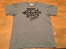 "Strivers Knitting Mill Award Jersey ""Captain F*^k Luck"" Grey T-Shirt SZ L Canada"