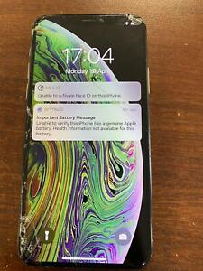 Apple iPhone XS Genuine Apple LCD cracked, LCD SCREEN ONLY, Touch not working