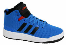 Adidas Originales Veritas Mid Junior Entrenadores Azul Negro Con Cordones S74890 Nuevo
