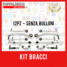KIT 12 PEZZI BRACCI SOSPENSIONE ANTERIORE AUDI A4 / A6 - 01.2001 > 12.2004