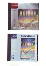 MASTER OF ORION II 2: BATTLE AT ANTARES - 1996 STRATEGY PC GAME - JC EDITION VGC