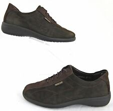 Mephisto Womens Oxford Lace Up Casual Shoes Brown Nubuck Leather Sz 6