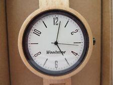 Woodstone Holzuhr Armbanduhr EXPLORER MAPLE WOOD Ahorn