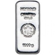 Lingot d'Argent 999/1000 - 1 000 grammes Silver Bar