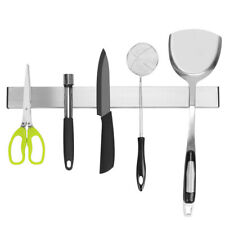 Self-Adhesive Magnetic Knife Storage Holder Chef Rack Strip Utensil 40CM