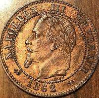 1862 K EMPIRE FRANÇAIS NAPOLEON III DEUX CENTIMES