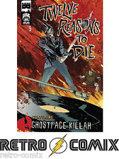 BLACK MASK 12 REASONS TO DIE #5 FIRST PRINT NEW/UNREAD BAGGED & BOARDED