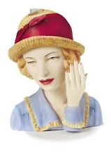 """Cameo Girls Head Vase Angeline 1924 """"Prime and Proper""""  MIB FREE SHIPPING"""