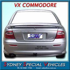 REAR WING BOOT SPOILER VX S PACK FOR VT-VX COMMODORE SEDANS
