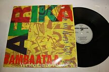Afrika Bambaataa, Just Get Up and Dance LP (VG) 12""