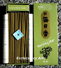 Nippon Kodo Morning Star Pine Incense 3 Boxes x 200 Stick, 600 Japanese Sticks