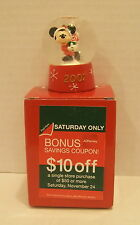 JC PENNEY 2007 SNOWGLOBE MICKEY ON SKATES
