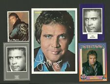 Lee Majors The Six Million Dollar Man Big Valley The Fall Guy Movie Fab Card LOT