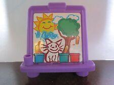 Fisher Price Little People School House Purple Easel Preschool Learn Town Part