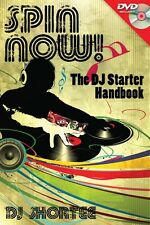 Spin Now! The DJ Starter Handbook Technical Book with DVD-ROM NEW 000333438